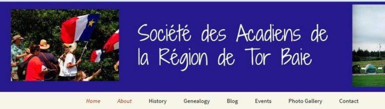 Society des Acadien de la rRegion de Tor Baie