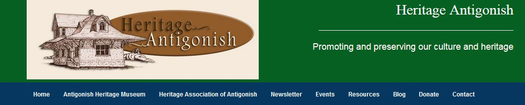 Antigonish Heritage website